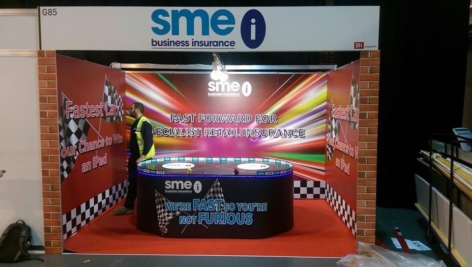 Exhibition Stand Insurance : Cardboard exhibition stand for devitt insurance wh skinner