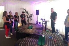 networking event corporate entertainment slot racing track