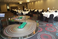 after dinner entertainment ideas giant scalextric for hire big scalextric london