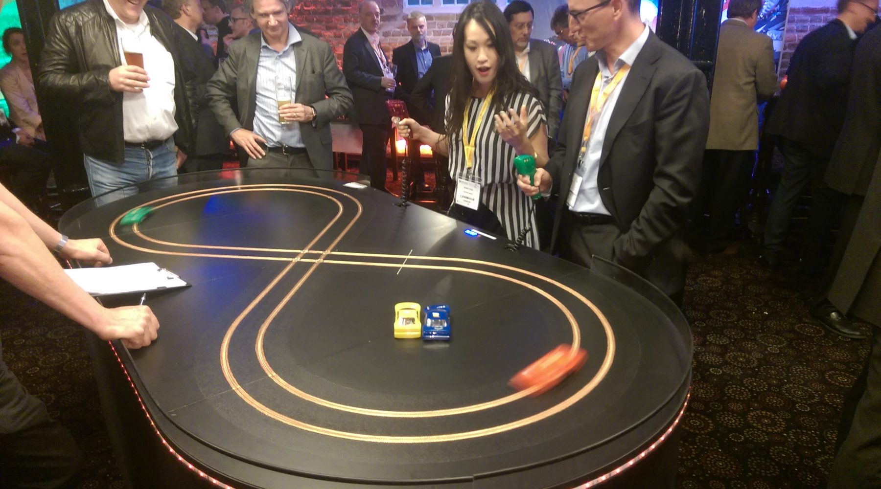 Exhibition Stand Game Ideas : Scalextric exhibition track for hire miniracing
