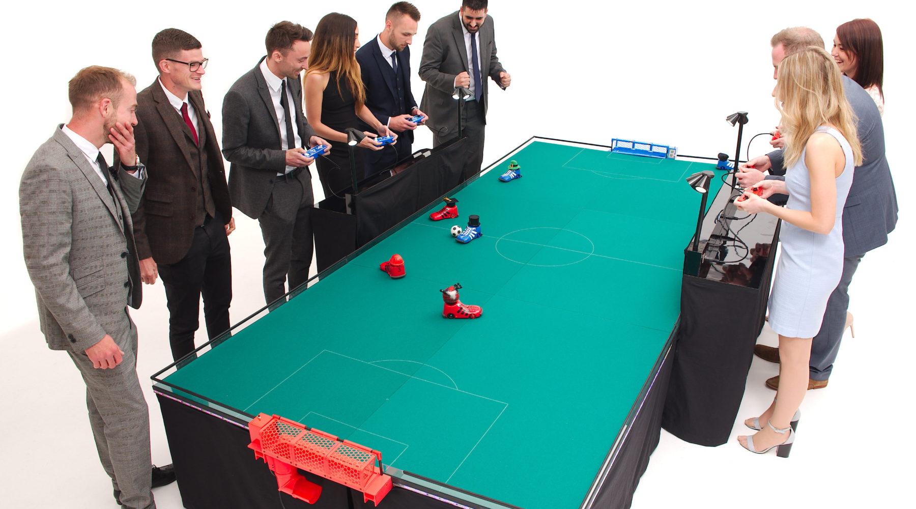 miniracing.com miniboots remote control football game