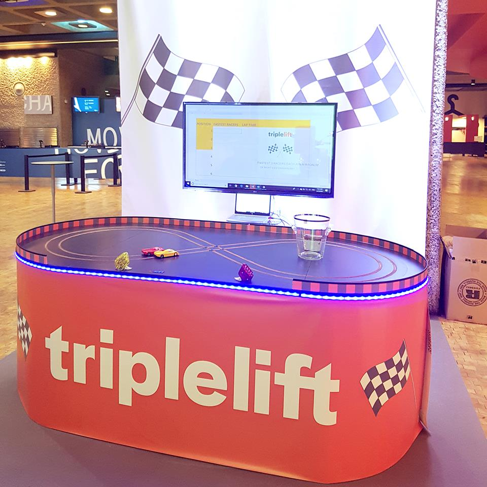 Exhibition Stand Games Ideas : Scalextric exhibition track for hire miniracing